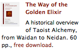 The Way of the Golden Elixir