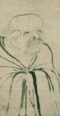 Laozi. Painting by Fachang Muchi, early 13th century